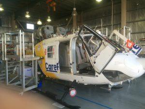 Careflight Helicopter Maintenance