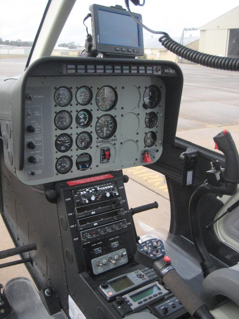 Bell 206-1 Instruments